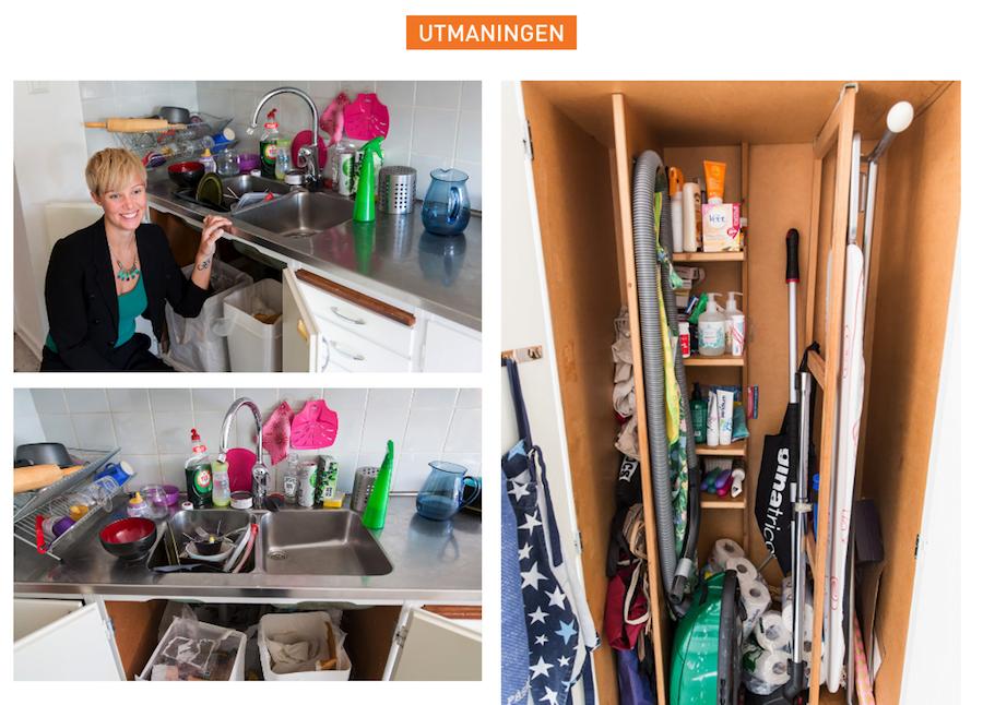 Brita Hahne gör om källsorteringen i fyra hem