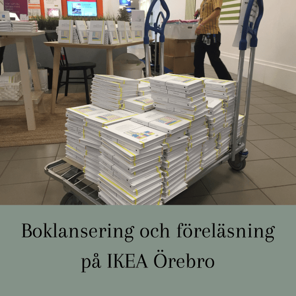 Boklansering och föreläsning på IKEA Örebro