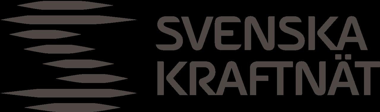 Svenska kraftnät logga